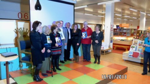Uitreiking eerste levensboeken op 16 januari 2013 in de Hoofdbibliotheek | afd. Zoetermeer