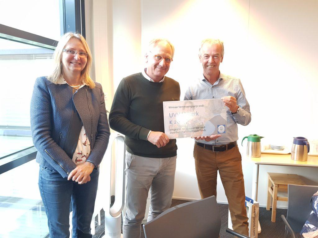 Winnaar prijsvraag: UVV-afdeling Nijkerk met nieuwe activiteit Fiets4daagse