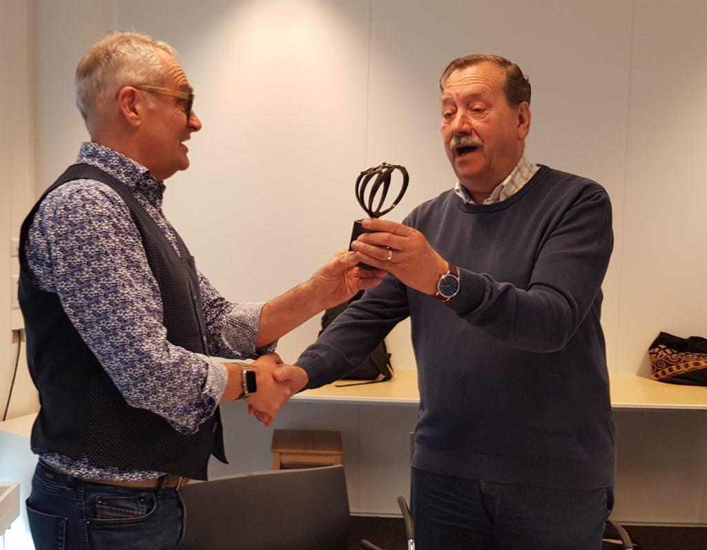 Afscheid voormalig secretaris UVV Nederland Tom de Graaff