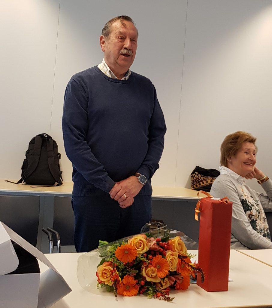 Afscheid Tom de Graaff afscheid tijdens de Algemene Ledenvergadering van 2 april 2019