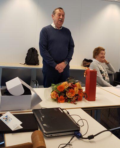 Tom de Graaff neemt afscheid tijdens de Algemene Ledenvergadering van 2 april 2019